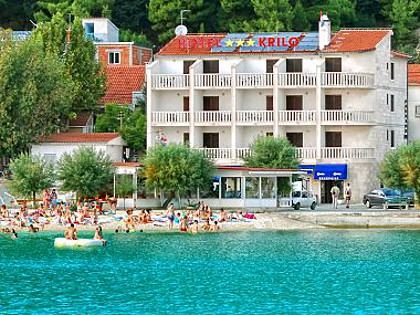 Hotel - 3 STAR Hotel on the beach - Krilo Jesenice - Riviera Omis  - Kroatien